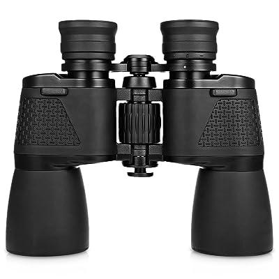 10x 50122m/1000m Grand Angle Pliable Télescope jumelles étanche Chasse longue-vue pour Voyager Camping Randonnée Observation des oiseaux
