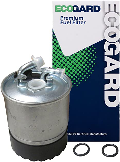 2004 dodge diesel fuel filter amazon com ecogard xf56305 premium diesel fuel filter fits dodge 2004 dodge cummins fuel filter change diesel fuel filter