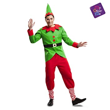 My Other Me Disfraz de Elfo Navidad para Hombre