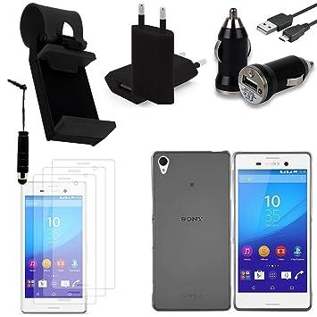 Vcomp® Sony Xperia M4 Aqua/M4 Aqua Dual: Lot funda funda ...