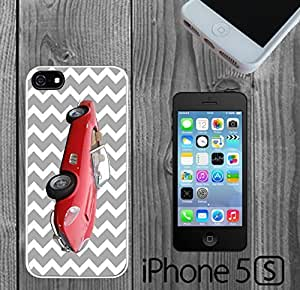Classic Car on Chevron Custom made Case/Cover/skin FOR iPhone 5/5s