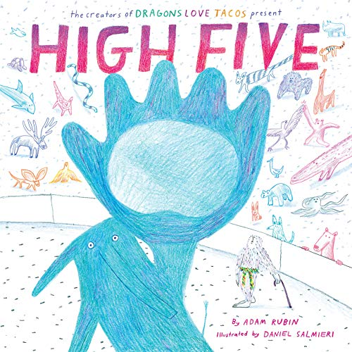 Book cover from High Five by Adam Rubin