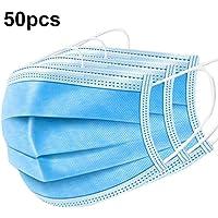 Azul 3 Capas,3 Capas Desechables Filtro Desechable De Mascherina Quirúrgica Contra Gérmenes
