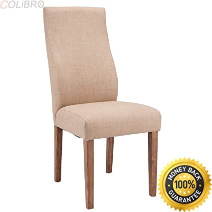 da37f8386295 COLIBROX--Set of 2 Dining Chairs Fabric Upholstered Armless Accent Home  Furniture New.