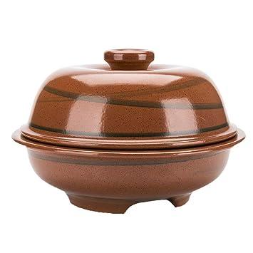 AFDK Utensilios de cocina de cerámica Olla de barro Olla de barro ...