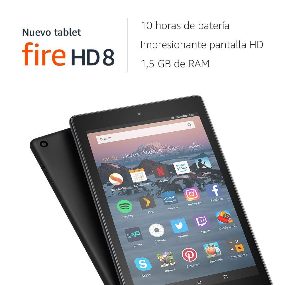 Nuevo tablet Fire HD 8 - Las mejores tabletas por 100 euros