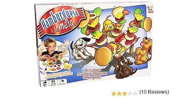 IMC Toys Juego Hamburguesa a la Mesa: Amazon.es: Juguetes y juegos