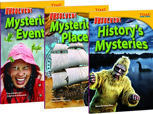 TIME FOR KIDS® Nonfiction Readers Unsolved Mysteries Set of 3