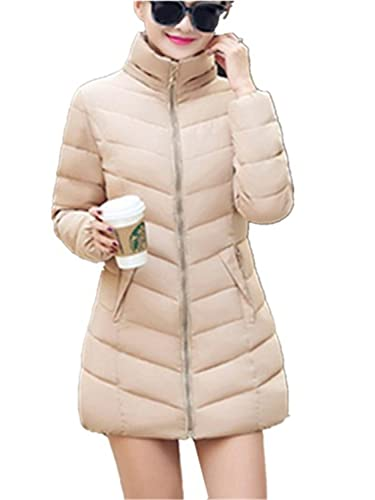 YOGLY Abrigos de Mujeres Invierno , Cálido Chaqueta Abajo Medio-Largas Down Coat Chaquetas de Moda c...