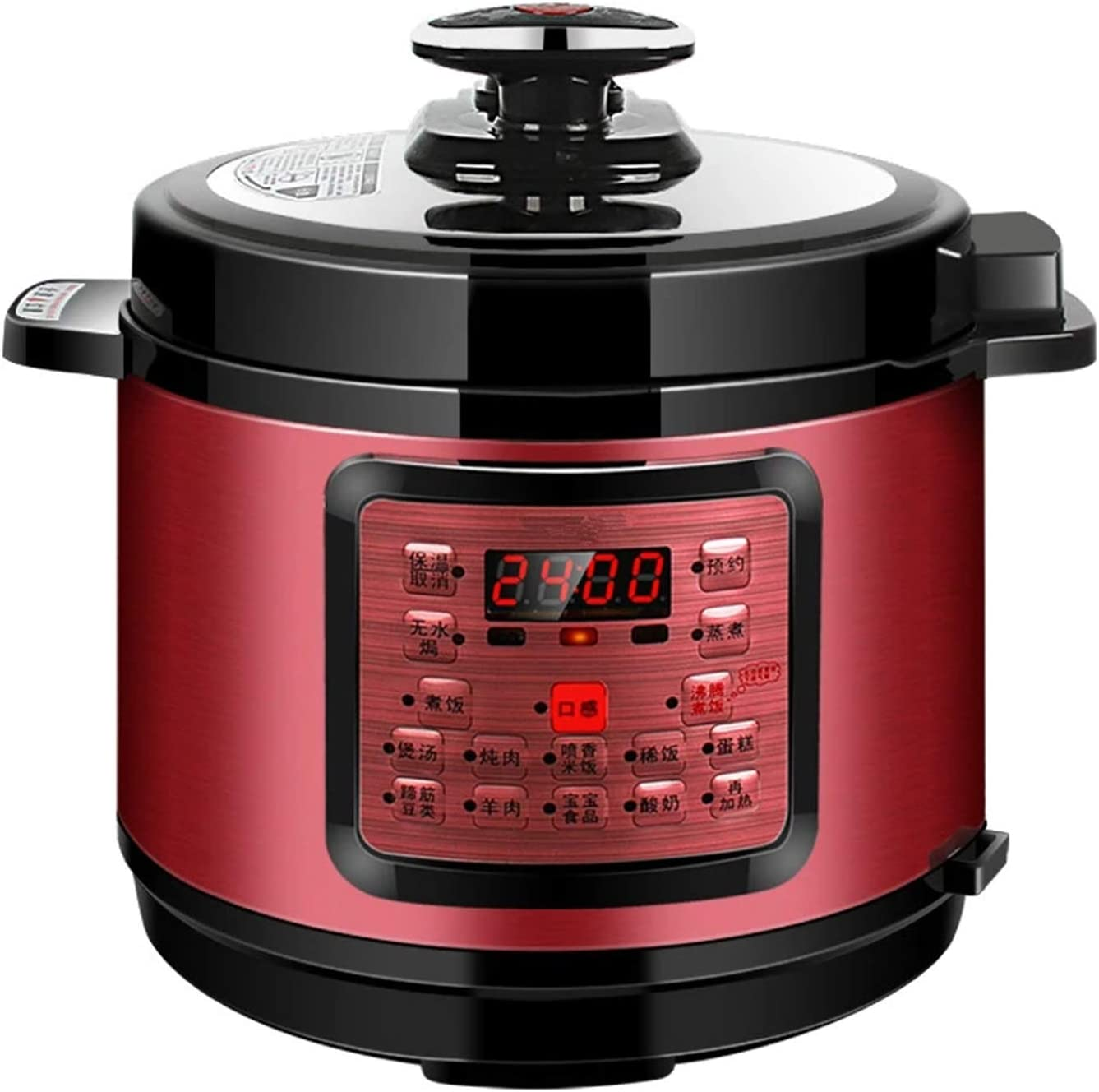 10-in-1 Electric Pressure Cooker, Instant LCD Digital Pressure Pot, 304 Stainless Steel Slow Cooker, Steamer, Rice Cooker