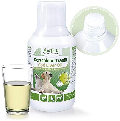 Aceite de Hígado de Bacalao 250ml. | Producto Natural para Perros y Gatos | AniForte