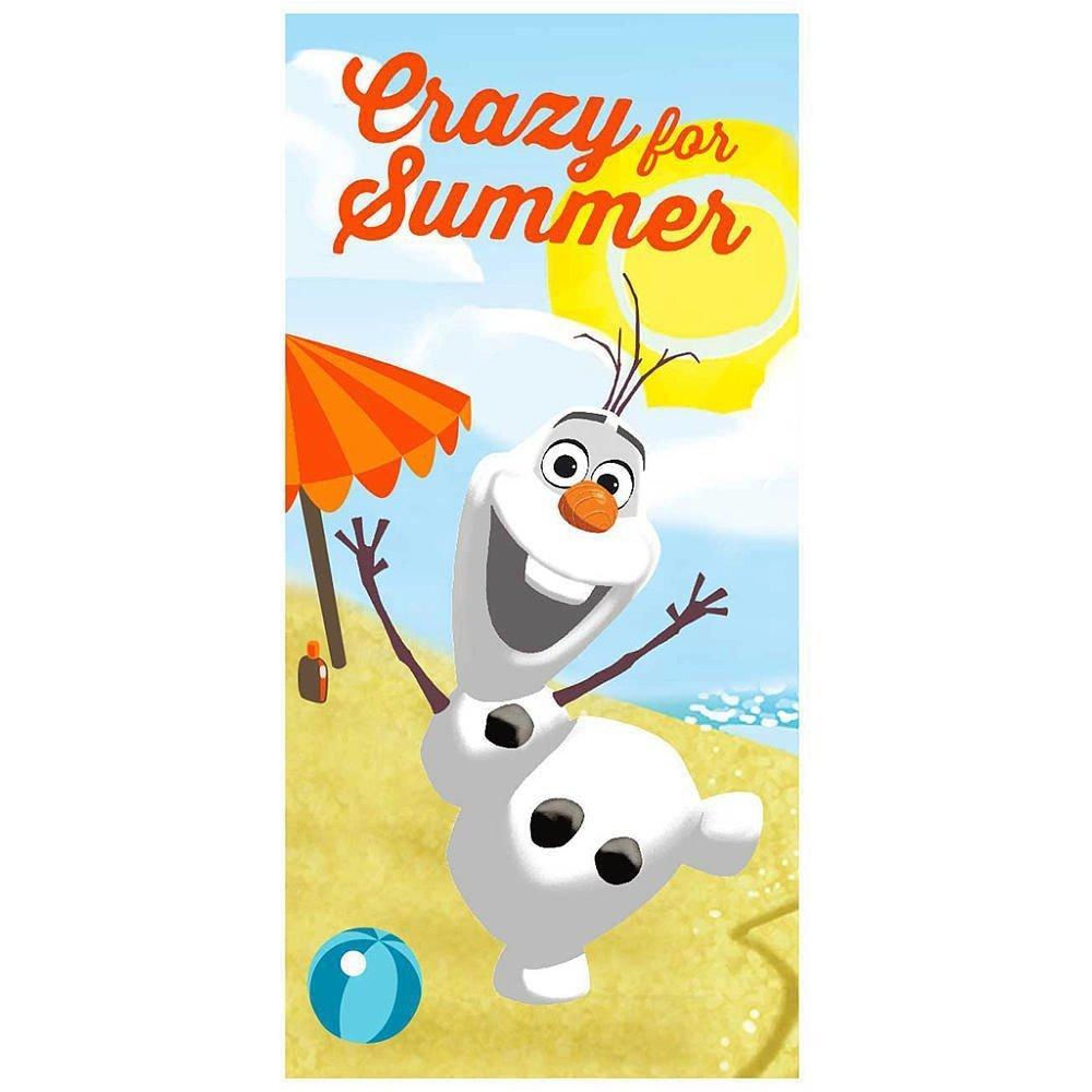 Disney Frozen Crazy for Summer Cotton Bath/Pool/Beach Towel