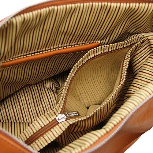 Yvette Cognac Beige Borsa La Pelle Dimensioni Tl140900 Tuscany Di Grandi In Modello Per Leather 6 Donna wAwqvXgx