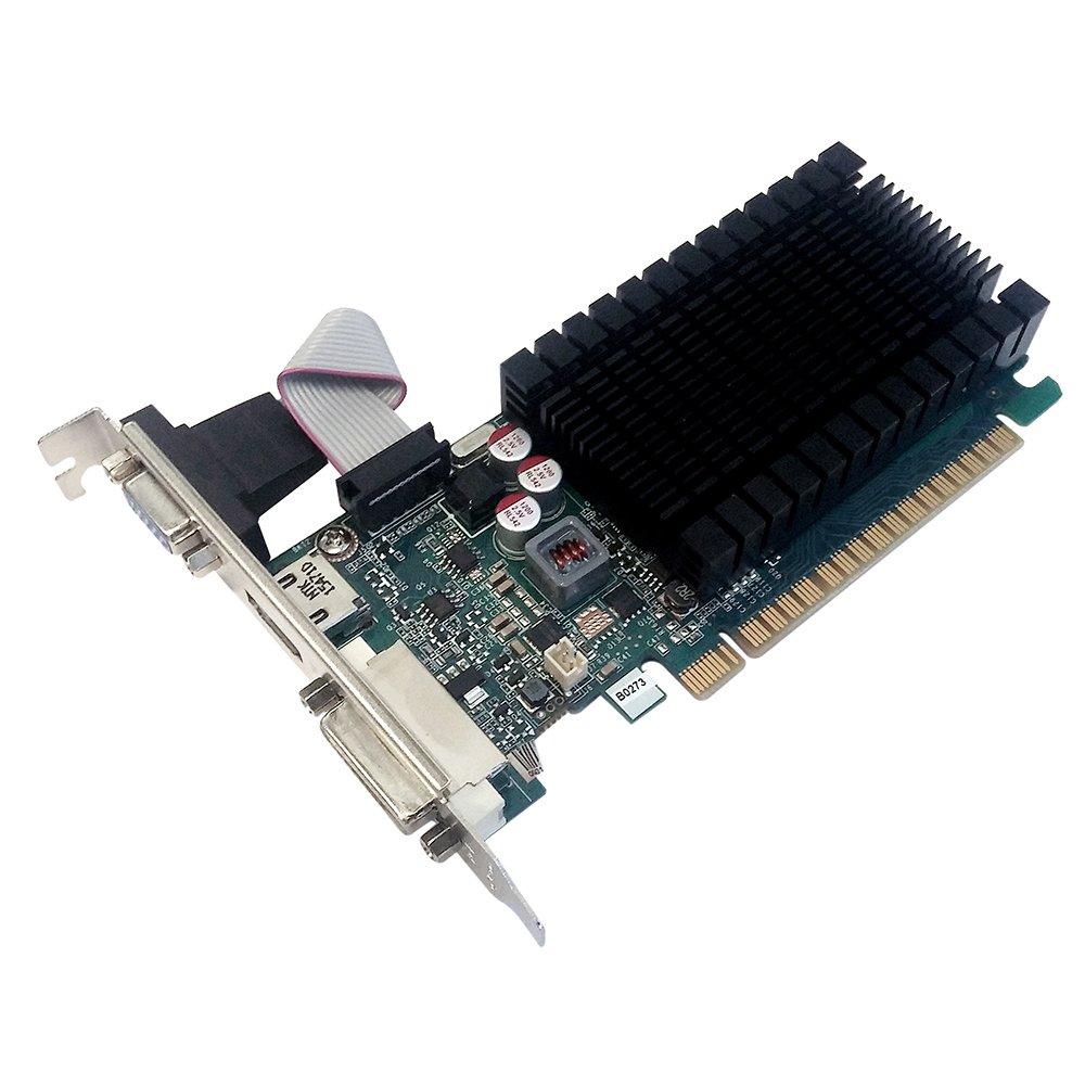 PNY GF710GTLH2GEPB NVIDIA GeForce GT 710 954 MHz 2 GB GDDR3 PCI Express Graphics Card Black