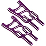 BQLZR 2 x RC 1:10 Purple Alloy 106019 Front Lower Suspension Arms for HSP Off Road Car