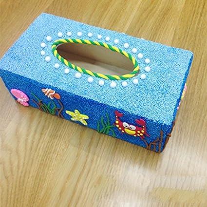 XBR Alto Grado de Toalla de Papel Caja de Madera, Caja de Madera Tipo Toalla