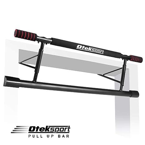 Amazon Com Oteksport Pull Up Bar Workout Bar For Doorway Home