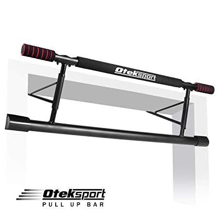 Oteksport Pull Up Bar – Workout Bar for Doorway Home Gym Exercise Fitness Equipment
