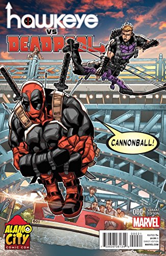 Hawkeye Vs Deadpool #0 Alamo City Comic Con 2014 Exclusive Variant Cover