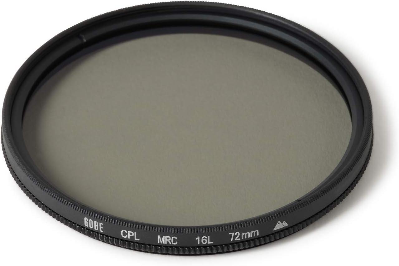 Gobe 95mm Circular Polarizing 2Peak CPL Lens Filter