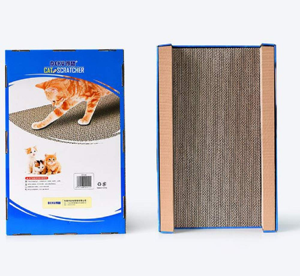 GDDYQ Cat Claw Board, Concave Corrugated Paper Cat Claw Toy, Cat Bed