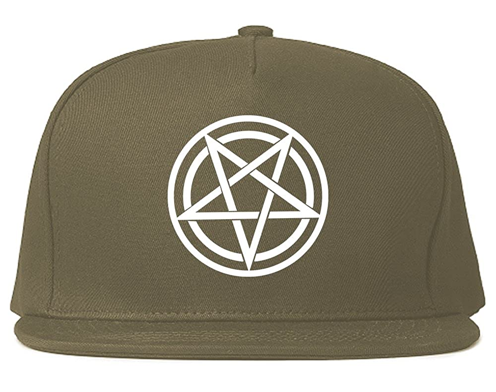f8690ff6 Pentagram Snapback Hat Cap Black at Amazon Men's Clothing store: