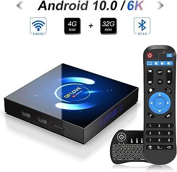 2GB DRR3/16GB eMMC] H96 Mini + Android 7.1 TV Box con Amlogic s905 W Quad