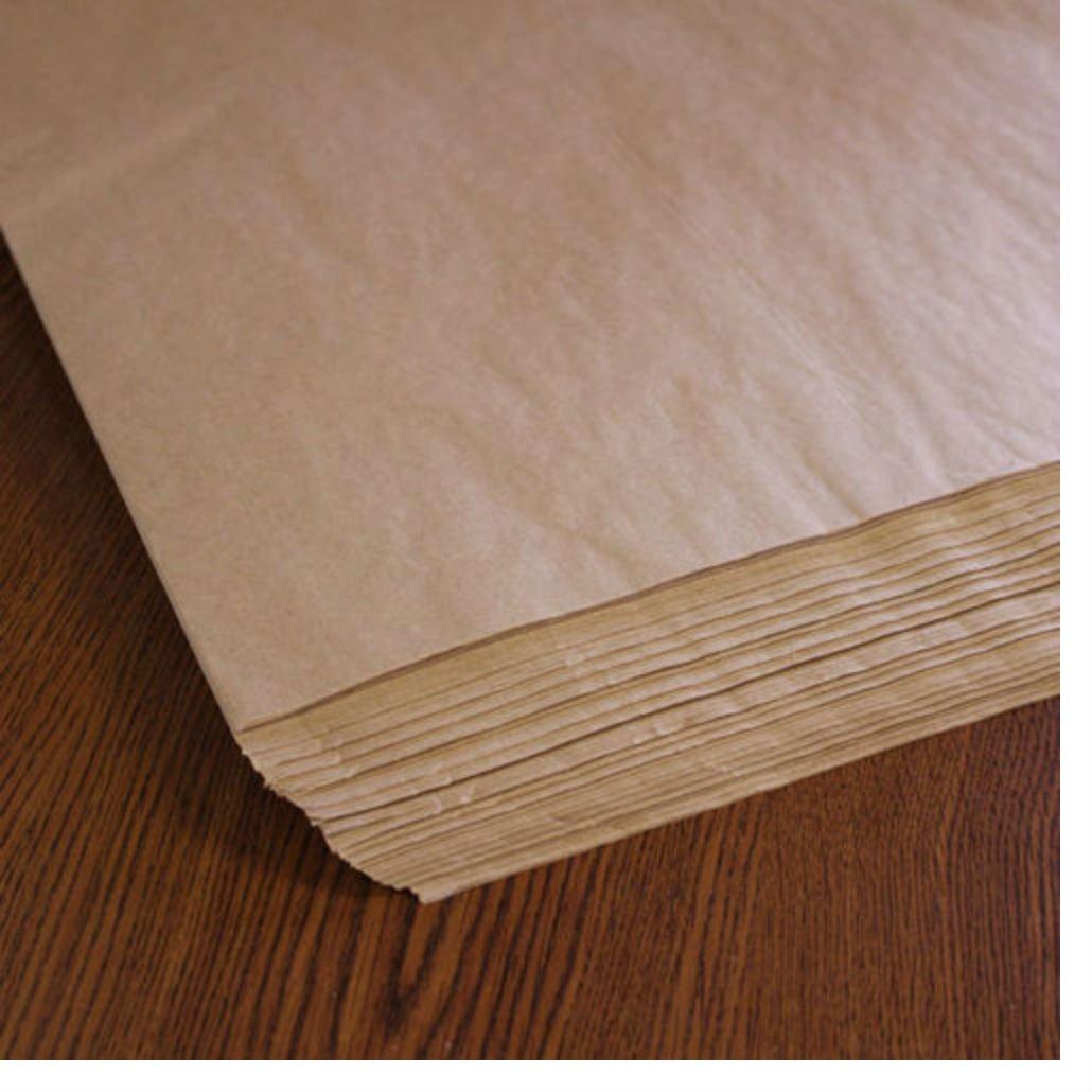 Natural Kraft (Brown) Tissue Paper - 480 Sheets!