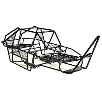 1/10 Scale RC Model Car V Steel Cage Chassis Frame for Axial SCX10 1 ...