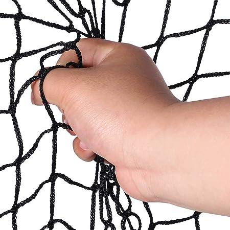Filet 5X5 pour Aide Sportive lahomie Filet dentra/înement de Baseball Pratique pour entra/înement de Baseball en Plein air Portable