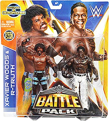 WWE Xavier Woods & RTruth Battle Pack Series 30 In Box On Stock by WWE