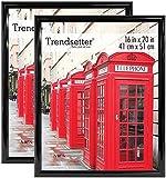 MCS Trendsetter 16x20 Inch Poster Frame (2pk), Black (65682)