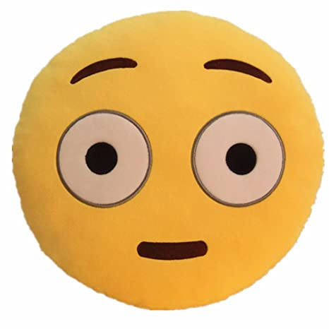 LI&HI Emoji Emoticon almohada Riendo cojín almohada ...