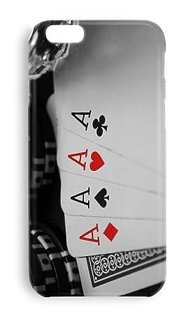 Funda carcasa Poker cartas para Iphone X plástico rígido ...