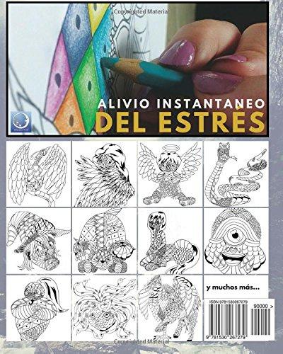 Libro de Colorear para Adultos Contra El Stress: Criaturas ...