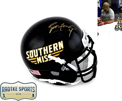 online store 1e832 67dee Amazon.com: Brett Favre Autographed/Signed Southern ...