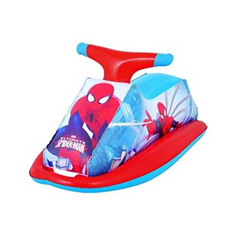98012 Juguete hinchable moto de agua SPIDERMAN Bestway ...