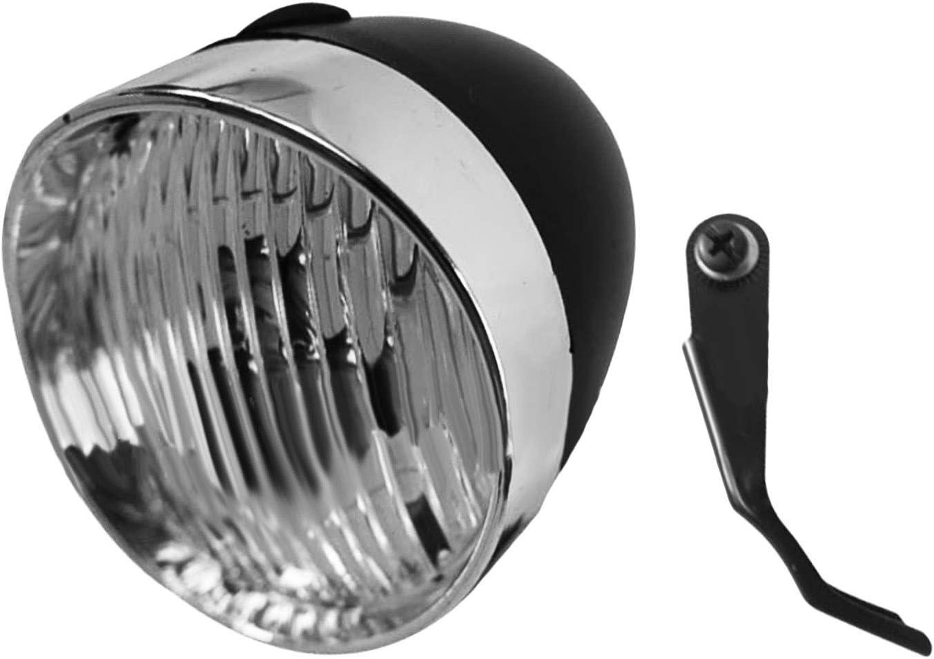 Retro LED Ajustable Faro luz Delantera Compatible con Xiaomi Xiao Mi Mijia M365 Pro Ninebot ES1 ES2 Scooter eléctrico