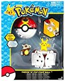 Pokemon Throw 'n' Pop Pokeball Pikachu & Poke Ball / Cubone & Repeat Ball Figure Set