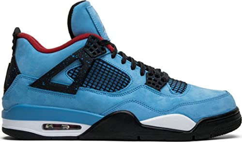 premium selection cd2cf c8a2c ... wholesale air jordan 4 retro travis scott cactus jack 308497 406 blue  zapatillas de running para