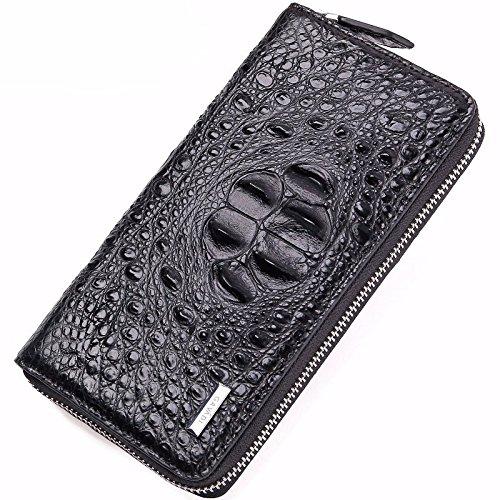 HOOM-Bolsos de moda bolso de cuero alrededor de zip bolsos ...