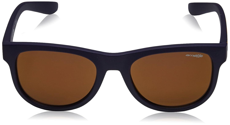 Arnette Class Act Iridium Round Sunglasses MATTE DARK BLUE 54 mm 0AN4222 MOD.4222SUN/_23537D-54