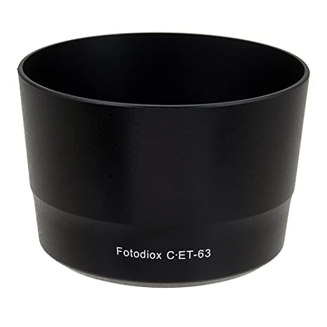 DWL ET-63 Replacement Lens Hood ET-63 For Canon EF-S 55-250mm f4-5.6 IS STM Lens