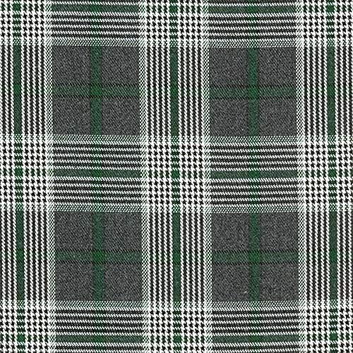*NEW* Top Quality Gingham Checked Poly Wool Suiting Fabric Material