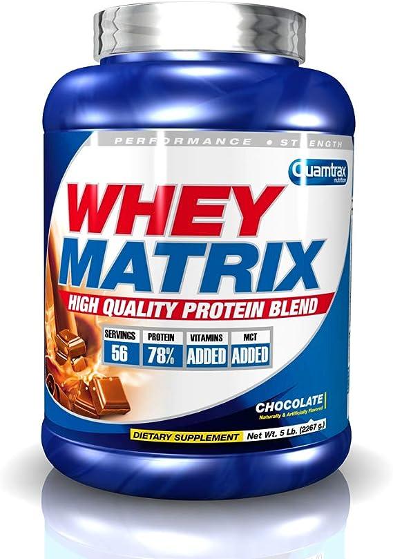 Quamtrax Whey Matrix Sabor Chocolate - 2267 Kg