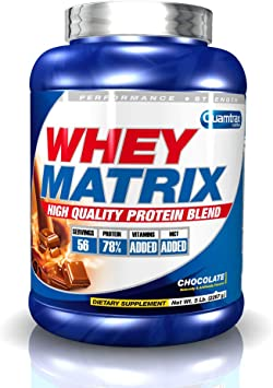 Quamtrax Whey Matrix Sabor Chocolate - 2267 Kg: Amazon.es ...