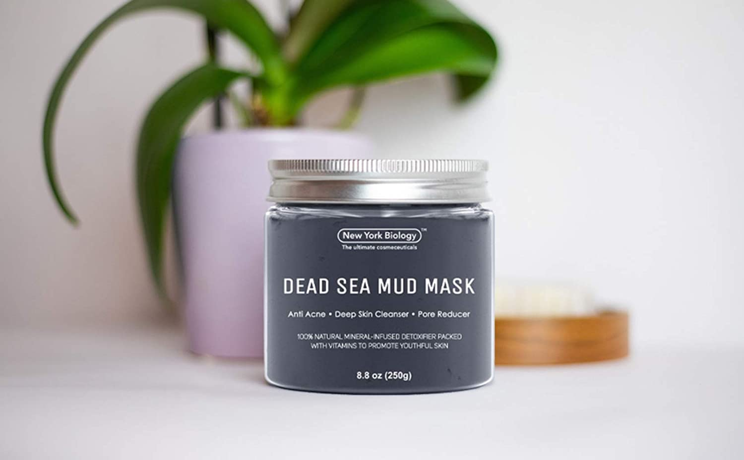 New York Biology Dead Sea Mud Mask for Face and Body - Spa Quality Pore Reducer for Acne, Blackheads and Oily Skin - Tightens Skin for A Healthier Complexion - 8.8 oz… : Beauty