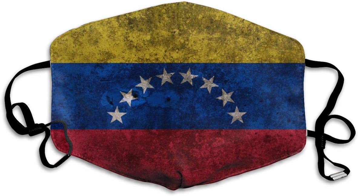HOMECT Flags Venezuela Masque de visage unisexe avec protection UV