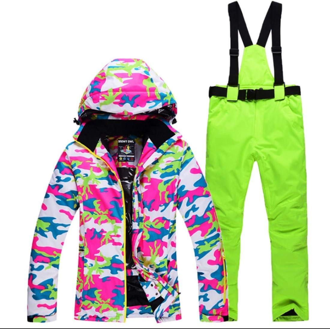 Wazenku 女性のマウンテンスキージャケット防水防風暖かい冬のレインコート (色 : 05, サイズ : S)  Small