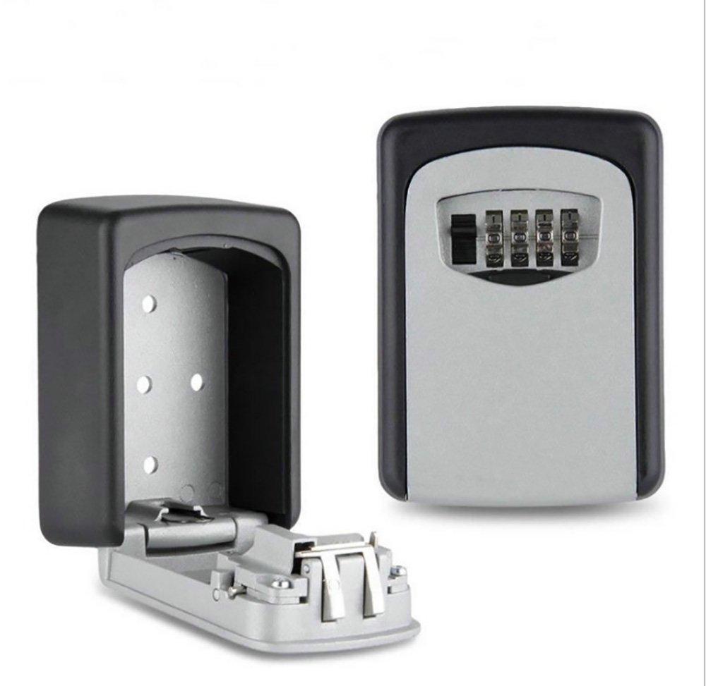 Anne montado en la pared combinació n de teclas Bloqueo seguro clave de seguridad caja fuerte metal y Waterfoor